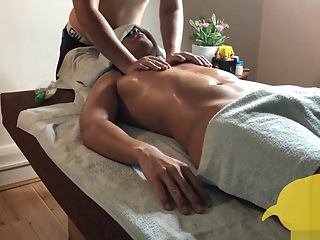 Private Male Massages : Hot Stone Massage group sex handjob asian