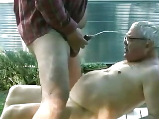 golden shower bear blowjob bukkake