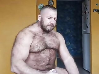 Byelorussian muscular escort man 6 bear daddy muscle