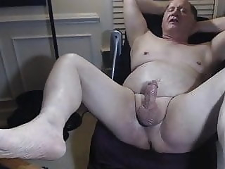 grandpa play on webcam daddy handjob massage