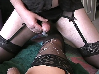 Fucked and cummed on my another crossdresser 9:19 2016-10-25