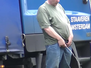 spy on more trucker pissing 20:54 2019-05-10