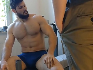 Worship Your Musclegod While He Works Out! 3:05 2019-06-20