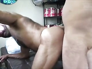 2 CUMLOADS: Bearded Bald Hirsute Muscledad Bred By Big Dick 10:23 2021-01-02